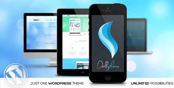 Dolly -  Responsive MultiPurpose WordPress Theme - Corporate WordPress
