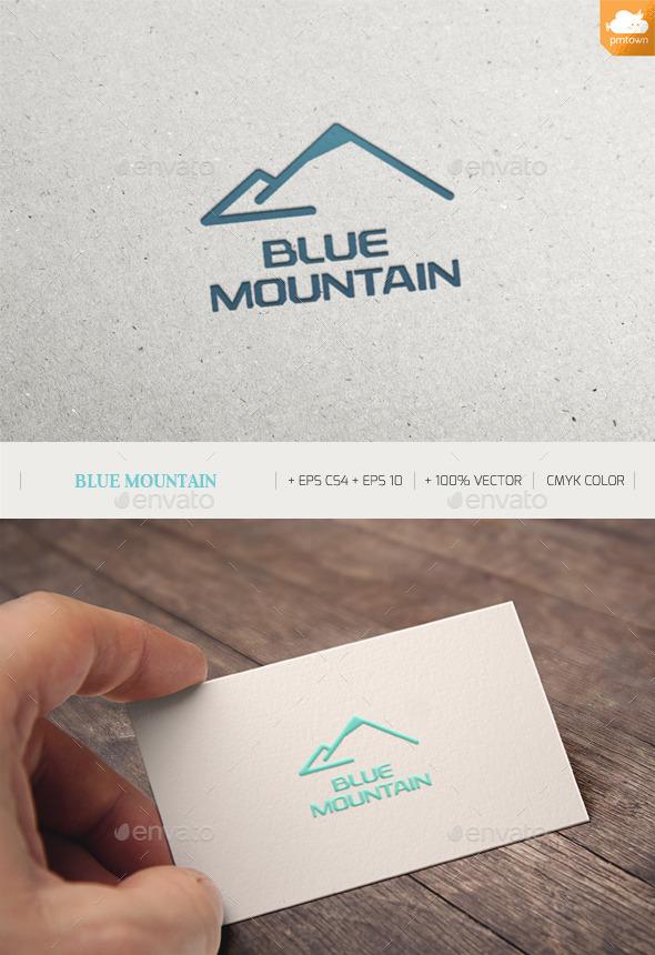 Blue Mountain - Nature Logo Templates