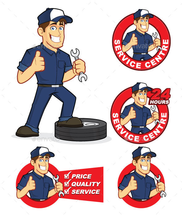 GraphicRiver Auto Mechanic 9335471
