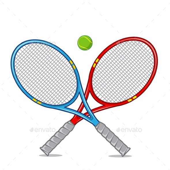 GraphicRiver Tennis Racket 9335618