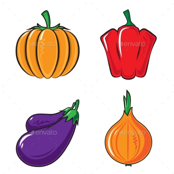 GraphicRiver Vegetables Collection 9335619