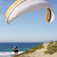 Paraglider on the Beach - VideoHive Item for Sale