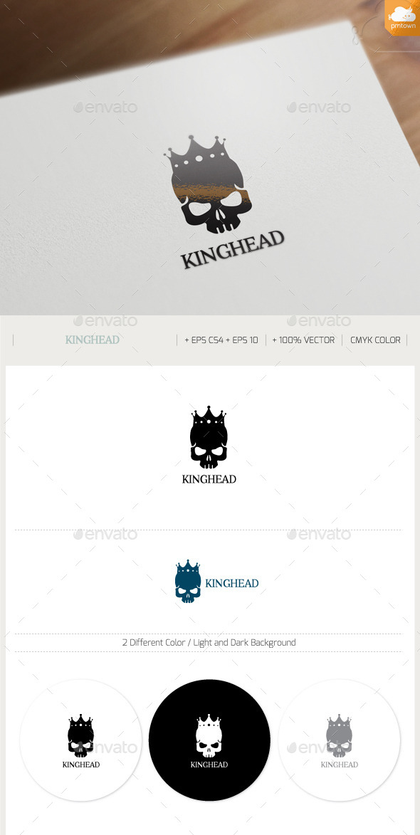 GraphicRiver King Head 9335649
