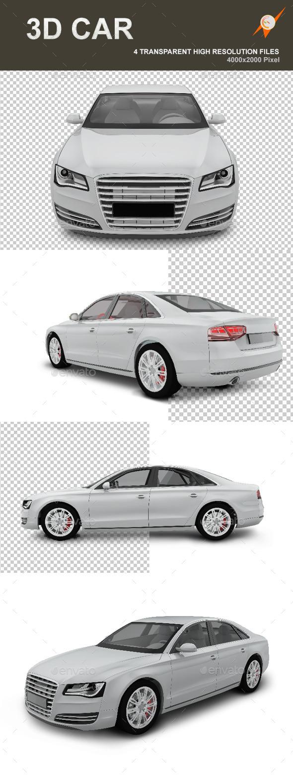 GraphicRiver 3D Car 9335960
