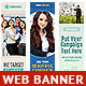 Corporate Web Banner Set Bundle 13 - GraphicRiver Item for Sale