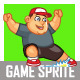 Funny Fat Boy Sprite - GraphicRiver Item for Sale