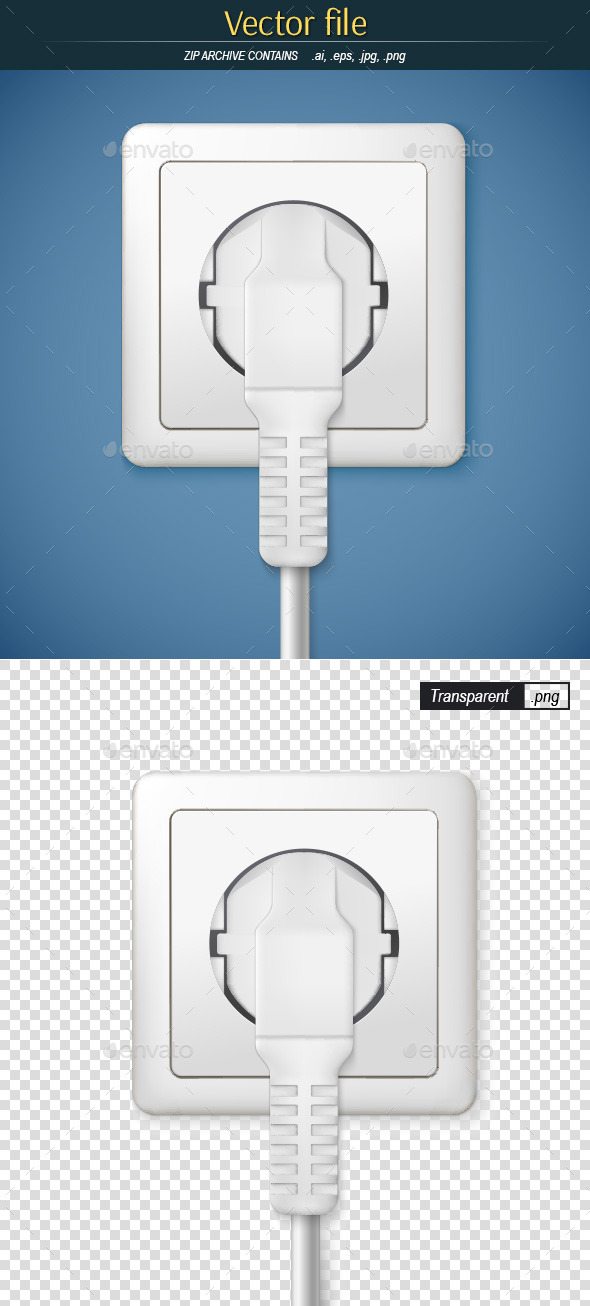 GraphicRiver Socket with Plug 9336323