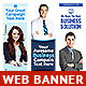 Corporate Web Banner Set Bundle 14 - GraphicRiver Item for Sale