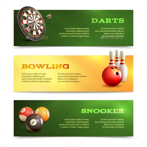 GraphicRiver Game Horizontal Banners 9336403