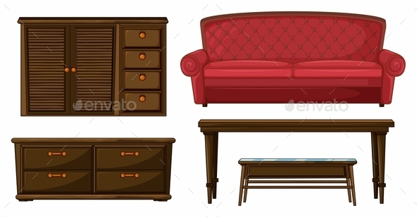 GraphicRiver A Living Room Set 9336447