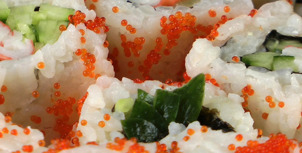 Traditional Japan Food Sushi 3