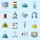 Laboratory Equipment Icons - GraphicRiver Item for Sale