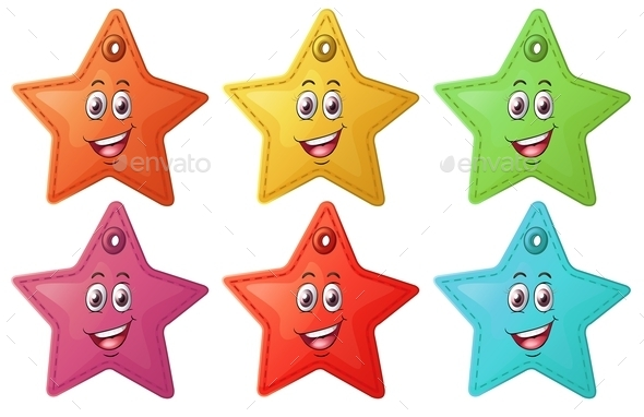 GraphicRiver Smiling Stars 9336709
