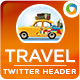 Travel Deal Twitter Header - GraphicRiver Item for Sale