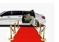 Limo on Red Carpet Arrival
