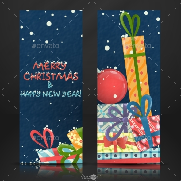 GraphicRiver Merry Christmas and Happy New Year 9336992
