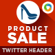 Product Sale Twitter Header - GraphicRiver Item for Sale