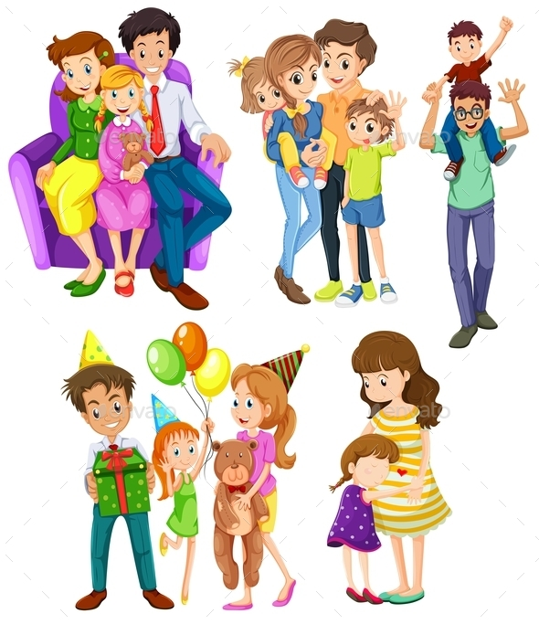 GraphicRiver Different Families 9337078