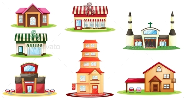 GraphicRiver Various Houses 9337107