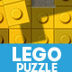 Lego Toy Bricks Puzzle Photoshop Actions - GraphicRiver Item for Sale