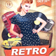 Retro Flyer - GraphicRiver Item for Sale