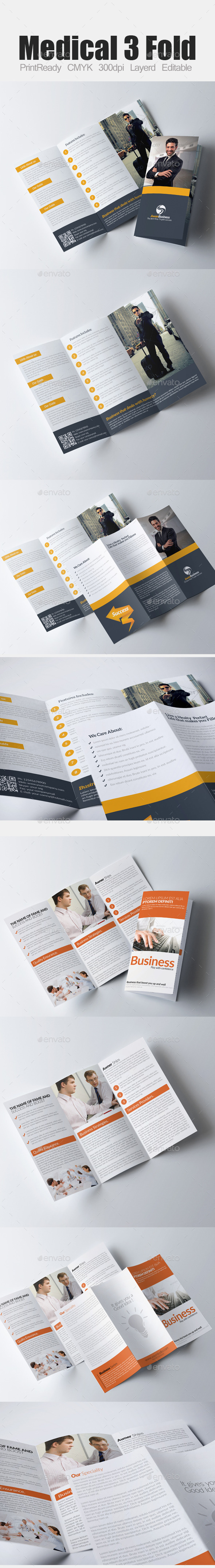GraphicRiver Tri Fold Business Bundle 9337904