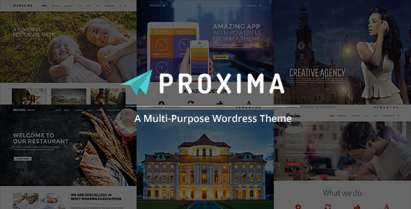 Proxima Responsive Business Multi-Purpose Theme - Business Corporate