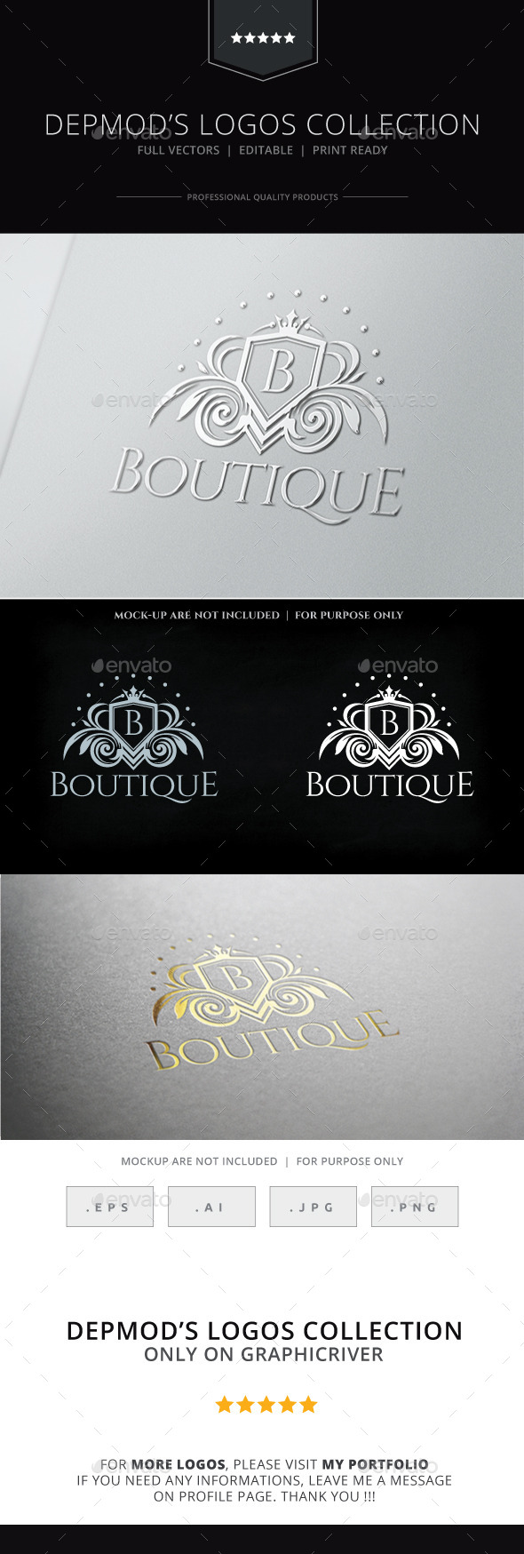 GraphicRiver Boutique Logo 9338239