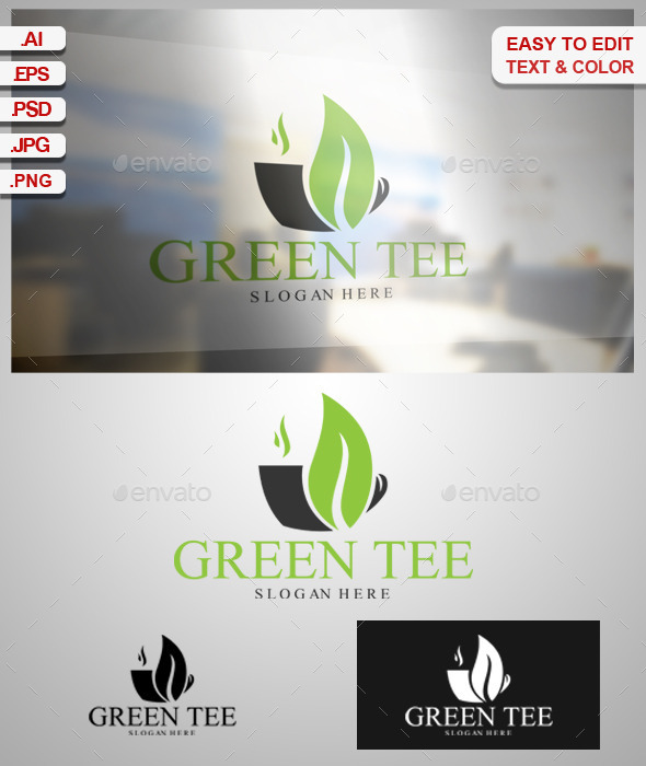 GraphicRiver Green Tee 9338412
