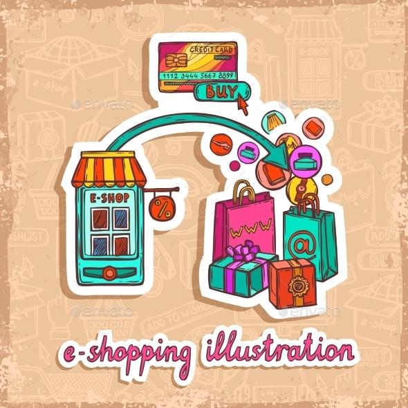 GraphicRiver E-Commerce Design Concept 9338418