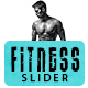 Fitness & Gym Slider - GraphicRiver Item for Sale