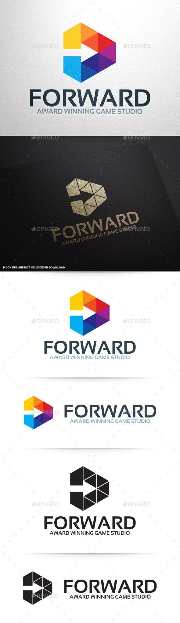 GraphicRiver Forward Logo Template 9338570