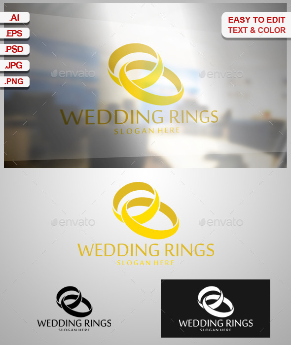 GraphicRiver Wedding Rings 9338584