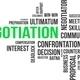 word cloud - negotiation - PhotoDune Item for Sale
