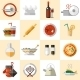 Cooking Food Icons Set - GraphicRiver Item for Sale