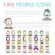 Set User Line Icons - GraphicRiver Item for Sale