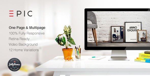 ThemeForest EPIC Responsive Multipurpose Template 9292791