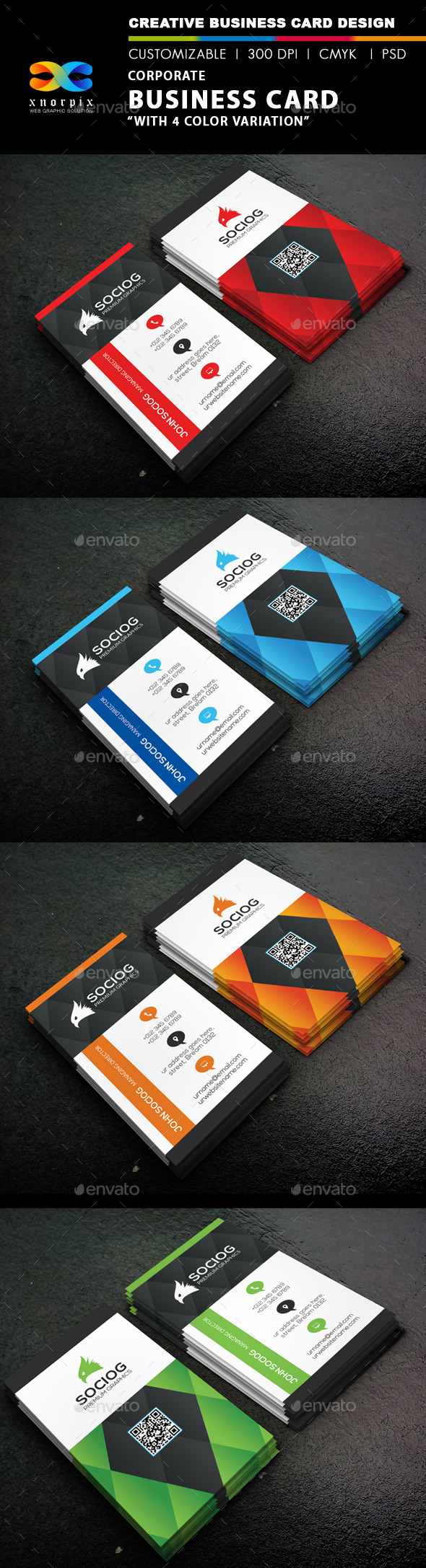 GraphicRiver Corporate Business Card 9338940