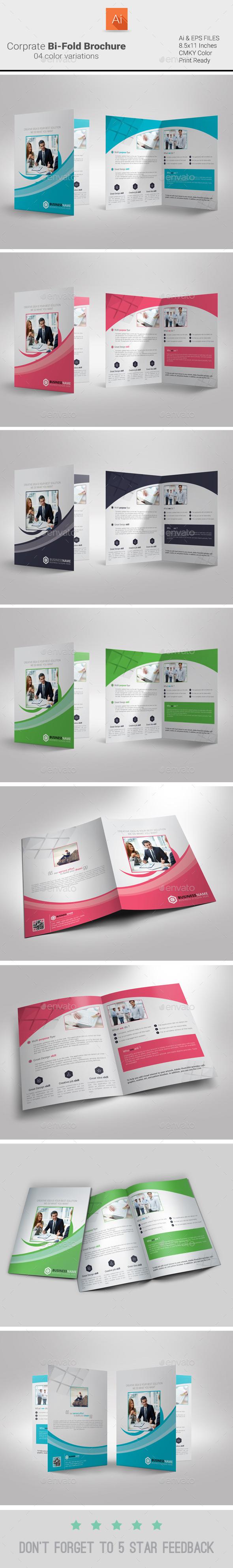 GraphicRiver Corporate Bi-Fold Brochure 9304010