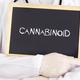 Doctor shows information on blackboard: cannabinoid - PhotoDune Item for Sale