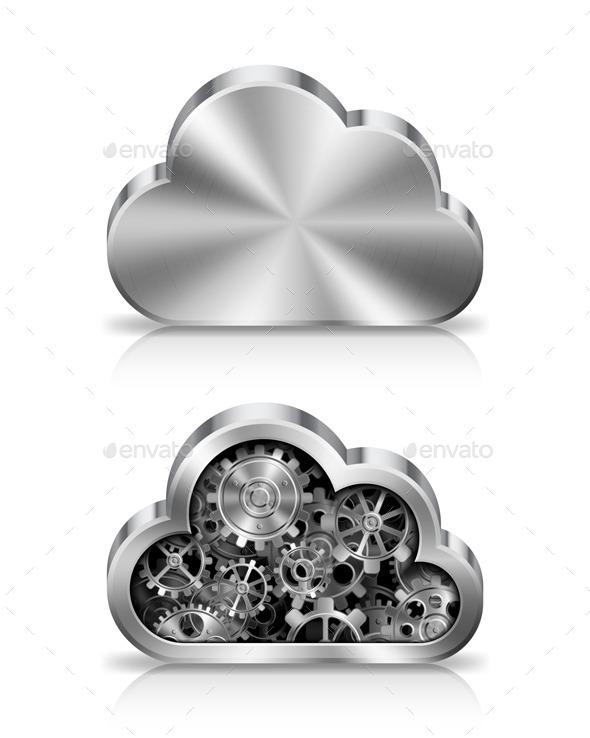 GraphicRiver Cloud Concept 9339393