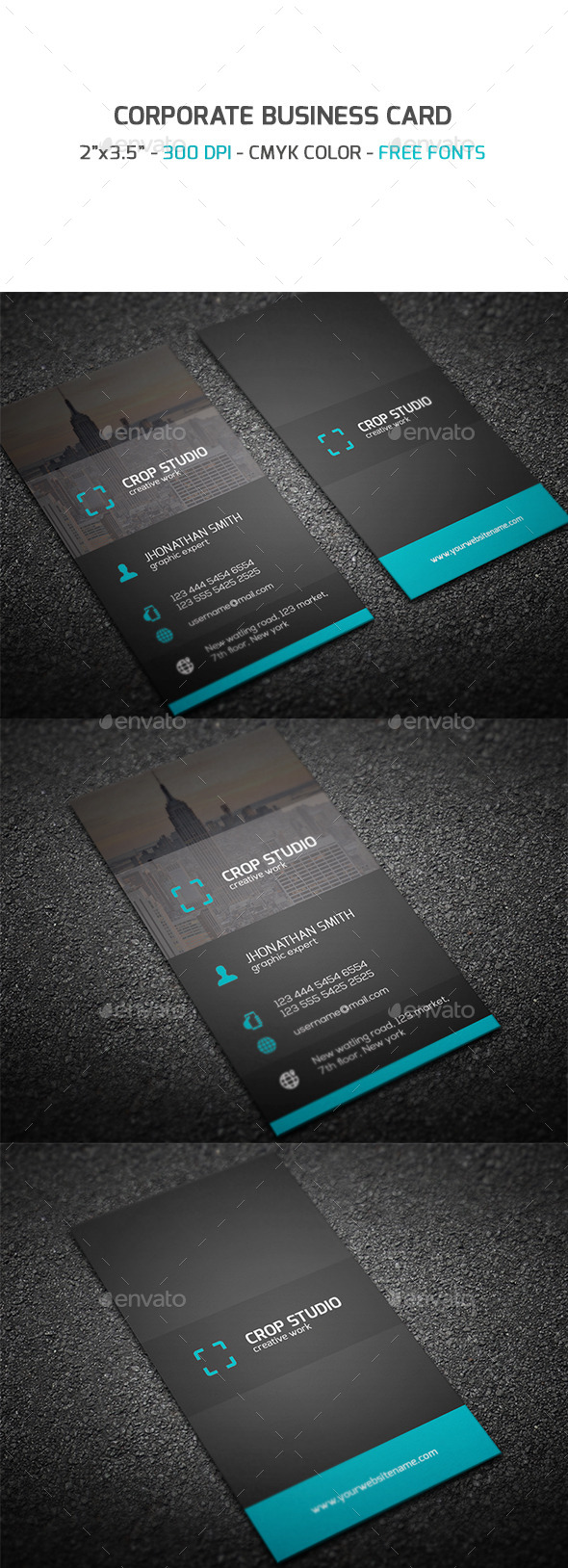 GraphicRiver Corporate Business Card 9339797