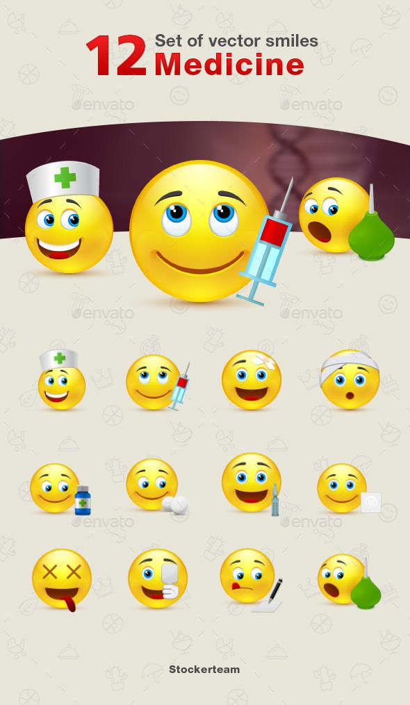 GraphicRiver Smiles 12 Medicine 9339993