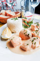 french cuisine dish with salmon - PhotoDune Item for Sale