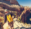 Hike in Zion - PhotoDune Item for Sale