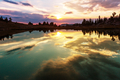 Lake on sunset - PhotoDune Item for Sale