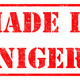 Made in Niger on Rubber Stamp. - PhotoDune Item for Sale