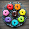 Colorful glazed donuts - PhotoDune Item for Sale