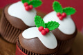 Christmas pudding cupcakes - PhotoDune Item for Sale