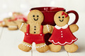 Gingerbread couple - PhotoDune Item for Sale